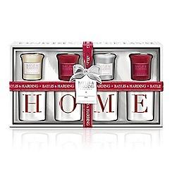 Baylis & Harding - Signature 4 Votive Home Gift Set