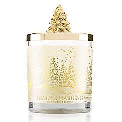 Baylis & Harding - Sweet Mandarin 1 Wick Candle With Christmas Tree Lid