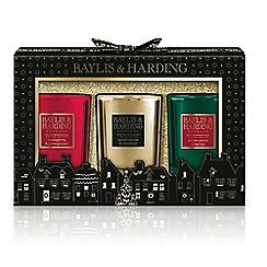 Baylis & Harding - Festive Signature  3 Candle Set