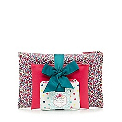 At home with Ashley Thomas - Set of three patterned cosmetic bags
