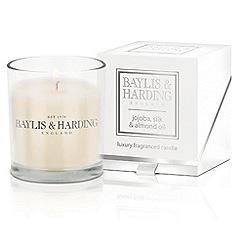Baylis & Harding - Jojaoba & Almond Single Boxed Candle
