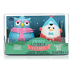 npw - Frosty friends penguin and owl lip balms