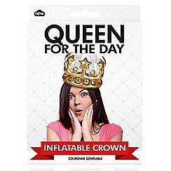 npw - Queen for the day inflatable crown