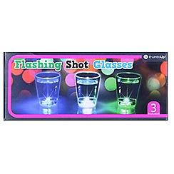 Thumbs Up - Flashing Shot Glasses