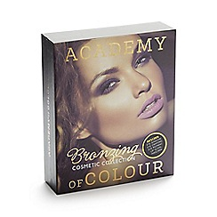Debenhams - Academy of Colour bronzing makeup set in book box