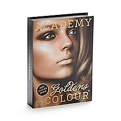 Academy of Colour - Gold makeup set in book box