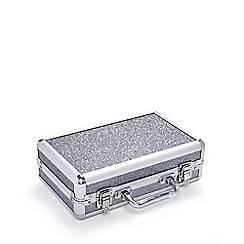 Academy of Colour - Silver make-up briefcase