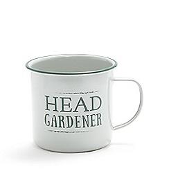 Wilson and Bloom - Green steel mug