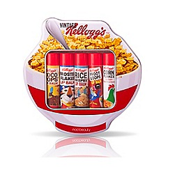 Kelloggs - Bowl shaped tin lip balm set