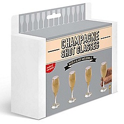 Debenhams - Champagne shot glasses