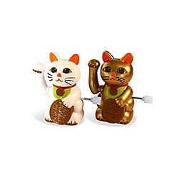 Bluw - Wind up racing lucky cats