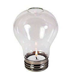 Debenhams - Lightbulb tealight holder