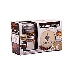 Fizz - Creative coffee stencil