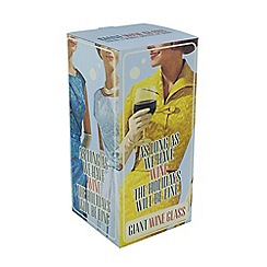 Debenhams - Giant wine glass