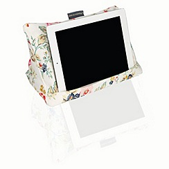 Gadget Co - Cushion stand for Tablets - Rose Garden Floral