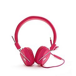 Debenhams - Pink headphones