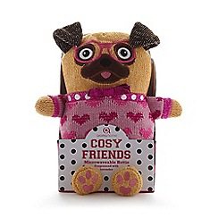 Aroma Home - Orange pug microwavable hottie