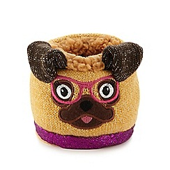 Aroma Home - Beige pug phone and gadget holder