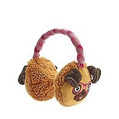 Aroma Home - Orange pug click and heat earmuffs