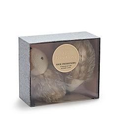 Aroma Home - Faux fur hedgehog shoe fresheners