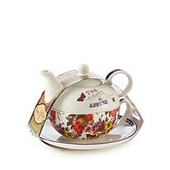 Rose & Butler - White tea for one set