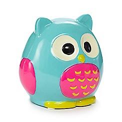 Rose & Butler - Turquoise owl money box