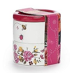 Rose & Butler - White button trinket box