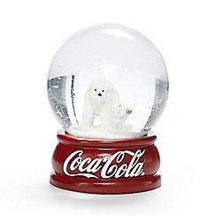 Coca Cola - Red polar bear snow globe