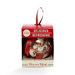 Coca Cola - Red Christmas tree bauble in a gift box