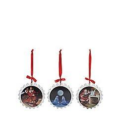Coca Cola - Set of three Christmas decorations in a gift box