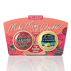 Debenhams - Make mine a double lip balm duo