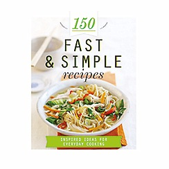 Parragon - 150 fast & simple recipes cookbook