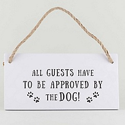 Wild & Wolf - Dog Hanging Sign