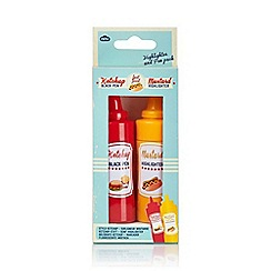 npw - Highlighter & Pen Pack - Mustard & Ketchup