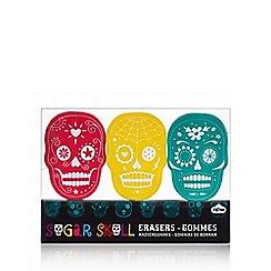 Debenhams - Sugar skull eraser