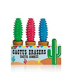Debenhams - Cactus erasers