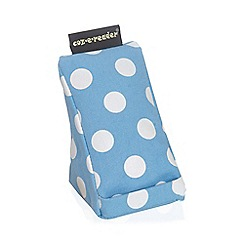 coz-e-reader - Cushion stand vintage blue spot