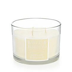 Baylis & Harding - Jojoba, Silk & Almond Oil Triple Wick Candle