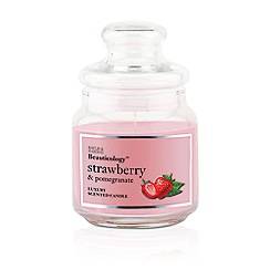 Baylis & Harding - Beauticology Strawberry & Pomegranate Single Wick Candle Jar