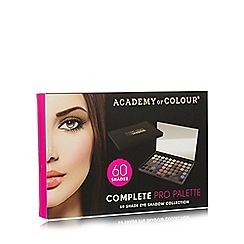 Academy of Colour - 60 eyeshadow collection