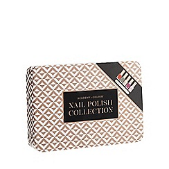 Debenhams - Set of five nail polishes and nail file