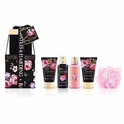Baylis & Harding - Boudoire Velvet Rose Stacking Gift Boxes set