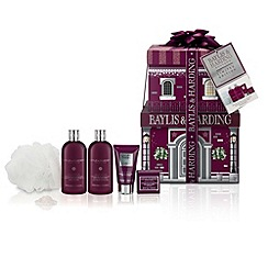 Baylis & Harding - Midnight Fig and Pomegrante Stacking Gift Boxes set