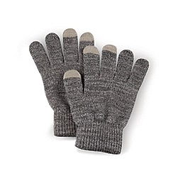 Debenhams - Grey touch screen gloves