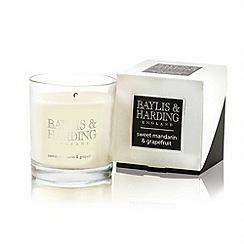 Baylis & Harding - Sweet Mandarin and Grapefruit Single Wick Candle