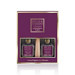 Baylis & Harding - Signature wild berry and apple mini duo diffusers