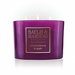 Baylis & Harding - Wild Blackberry and Apple Luxury Home Fragrance Mini Duo Diffuser Set
