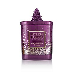 Baylis & Harding - Wild Blackberry and Apple Luxury Scented Candle