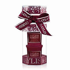 Baylis & Harding - Midnight Fig and Pomegranate Scented Candle Cracker Set