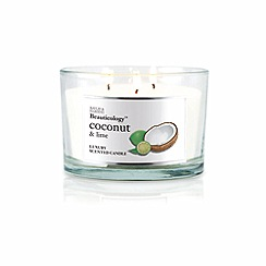 Baylis & Harding - Beauticology Coconut and Lime Triple Wick Candle